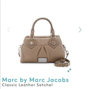 Marc Jacobs Classic Leather Satchel
